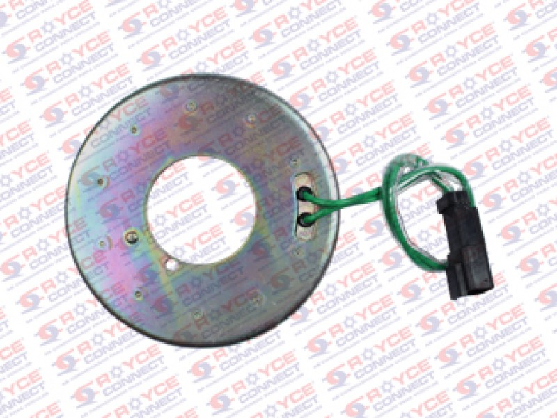 Magnetico do Compressor Sanden 7H15 24 Volts Modelo c/Polia 154mm